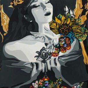 Kristel Bechara-Agape-90x150cm