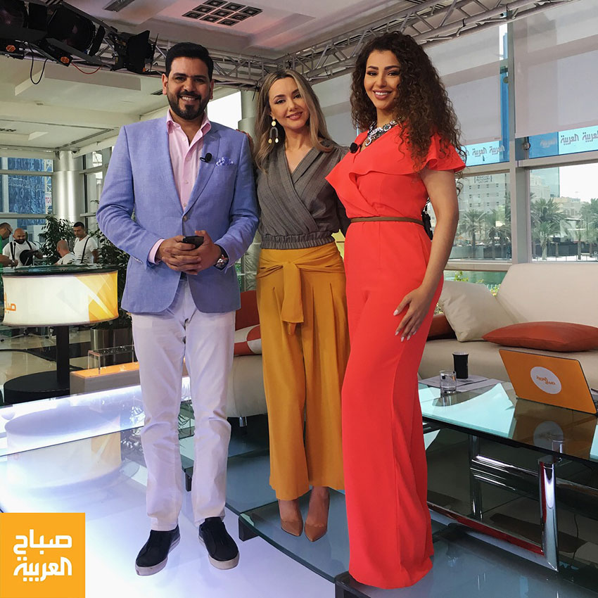Kristel-Bechara-Al-Arabiya-TV-March2018