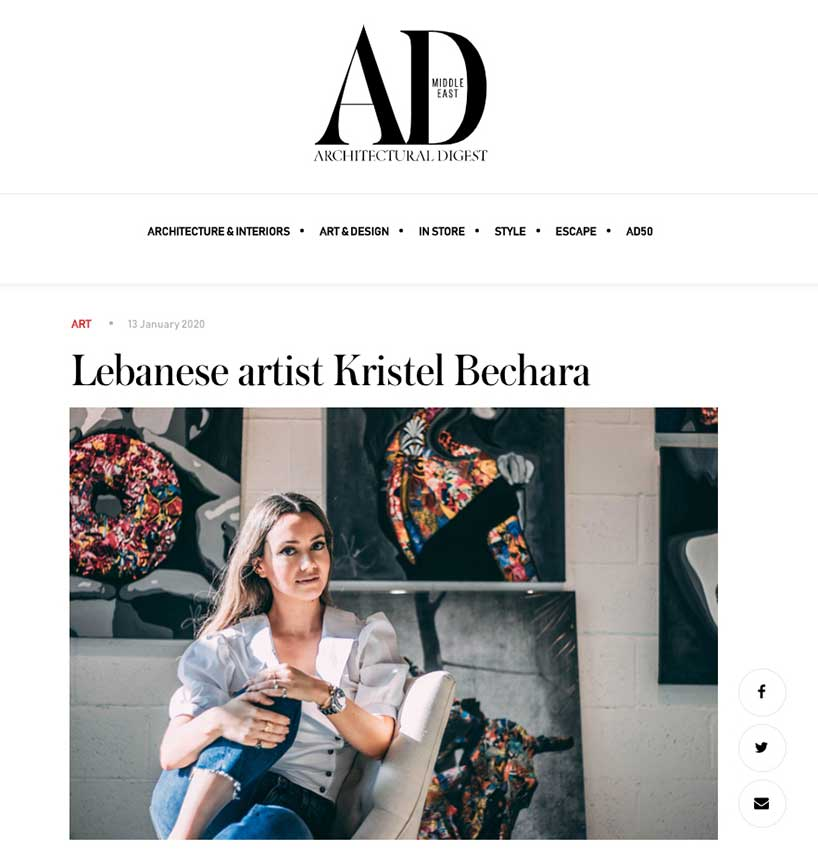 Kristel-Bechara-Architectural-Digest- 13 Jan 20