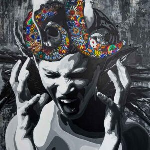Kristel Bechara- Atonement- 80x100cm