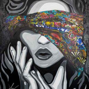 Kristel Bechara-Justice -80x120cm