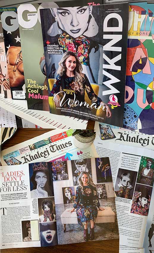 Kristel-Bechara-Khaleej-Times-WKND-Cover