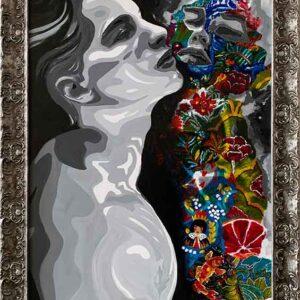 Kristel Bechara-Narcissus-Frame