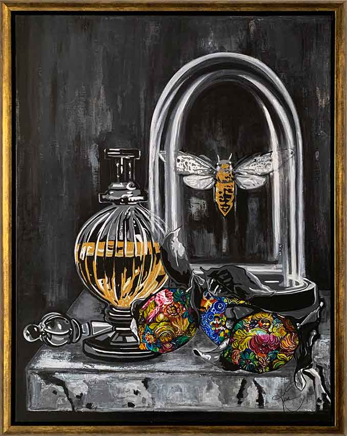 Kristel Bechara-Nectar & Ambrosia - Frame