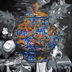 Kristel Bechara-Pandora's Box- 100x120cm