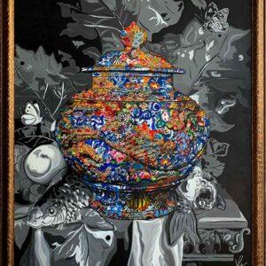 Kristel Bechara-Pandora's Box-Frame