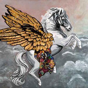 Kristel Bechara- Pegasus 100x150cm