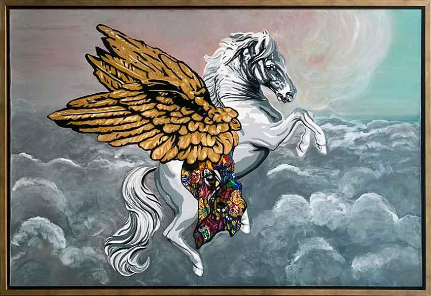 Kristel Bechara- Pegasus Frame