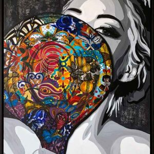 Contemporary painting by Kristel Bechara-Prudence