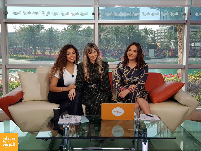 Kristel-Bechara--Sabah-Al-Arabiya-TV-April 19