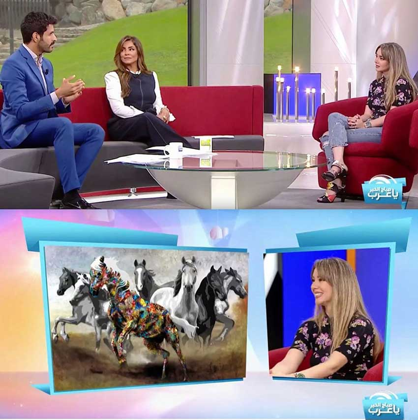 Kristel-Bechara-Sabah-El-Kheir-Ya-Arab-MBC-TV-11 june 2019