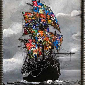 Kristel Bechara-Sea of Life-Frame