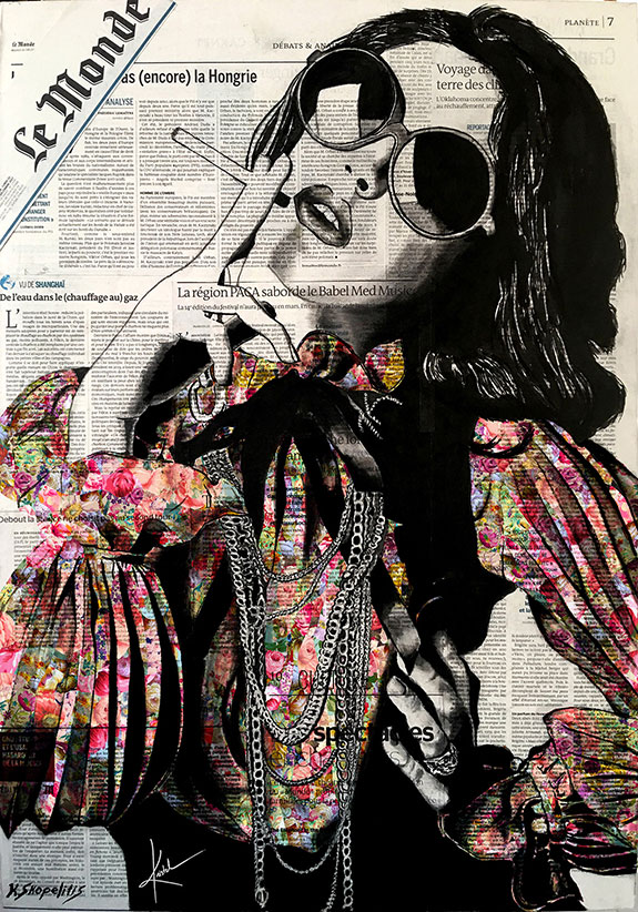 Ask a Woman is an art collection by Kristel Bechara representating a celebration of a woman's freedom-La Belle Epoque