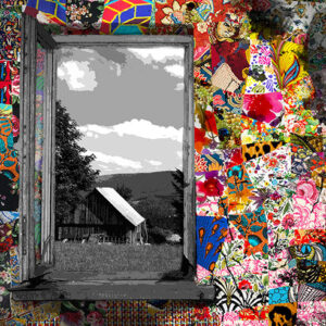 Garden of Life artwork collection by Kristel Bechara-Window with a View