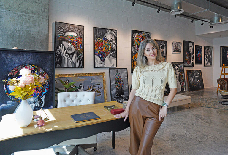 Kristel Bechara, UAE Resident Award winning contemporary artists, shares her tips on how to display your artwork.