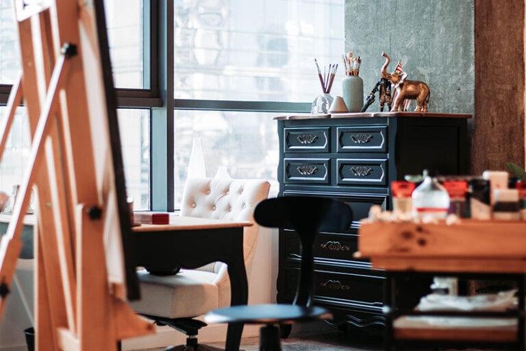 Kristel Bechara, UAE Resident Award winning artist, writes about ways to keep your art studio and space organized
