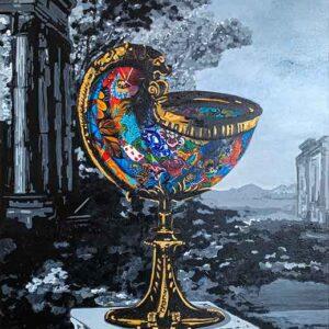 Kristel Bechara - Nautilus Cup-70x115cm