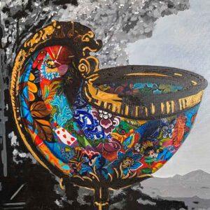 Kristel Bechara - Nautilus Cup-Close up