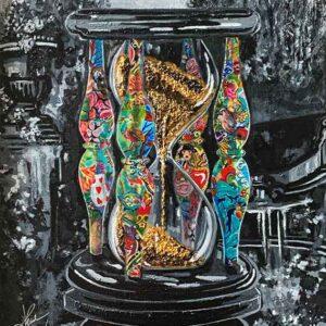 Kristel Bechara - Sands Of Time- 40x60cm