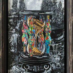 Kristel Bechara - Sands Of Time- 40x60cm Frame