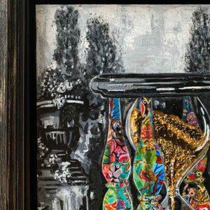 Kristel Bechara - Sands Of Time- 40x60cm Frame1