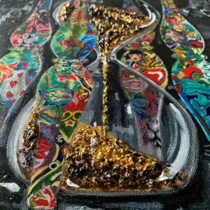 Kristel Bechara - Sands Of Time- Close Up