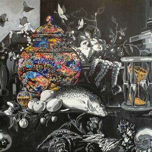 Feast of Life -150x100cm