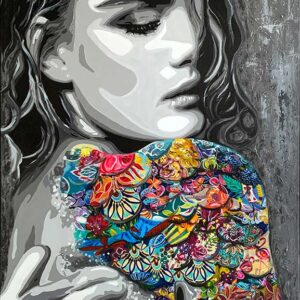 Contemporary painting by Kristel Bechara-Siren