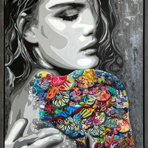 Contemporary paintings by Kristel Bechara-Siren