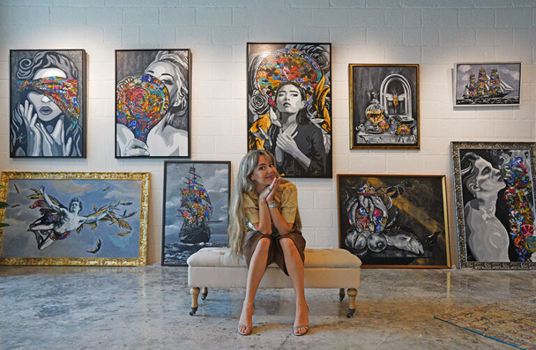UAE Resident Award winning artist Kristel Bechara shares her tips on how to build a valuable art collection