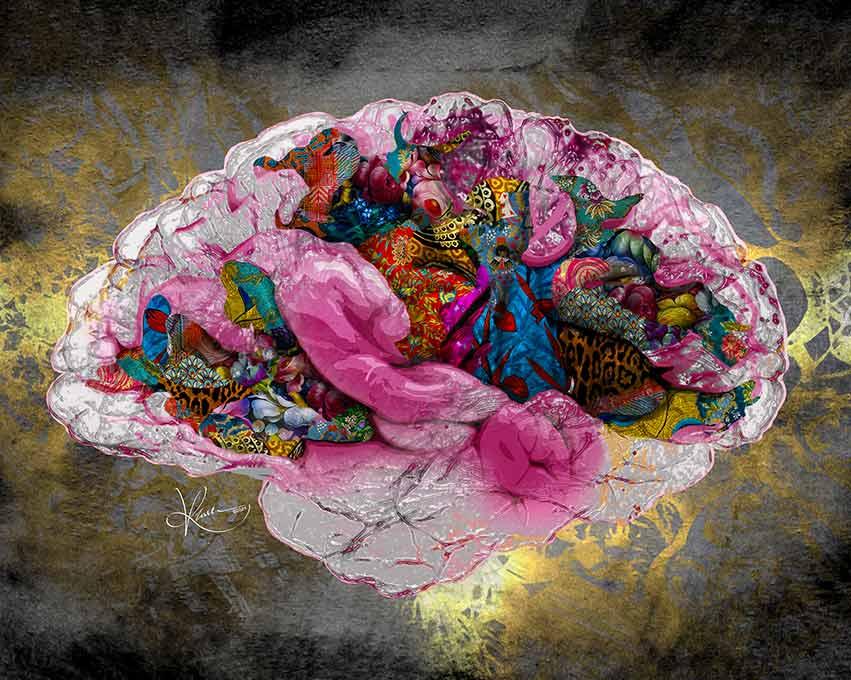 Kristel Bechara sells digital artwork as Non-Fungible Token-FOMO