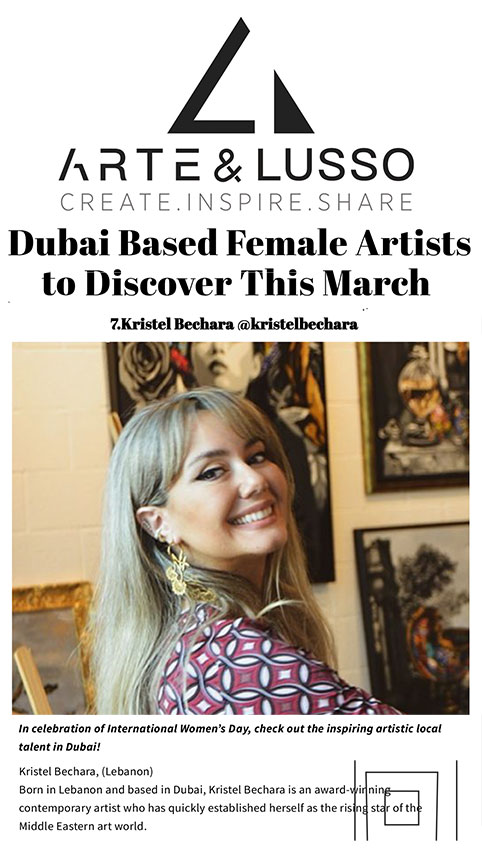 Dubai Based Female-Artists-Arte&Lusso-WEB