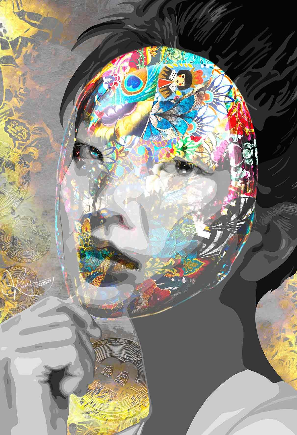 Kristel Bechara Beauty in DeFi Satoshi Nakamoto