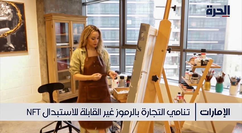 Kristel Bechara - TV Interview about NFT