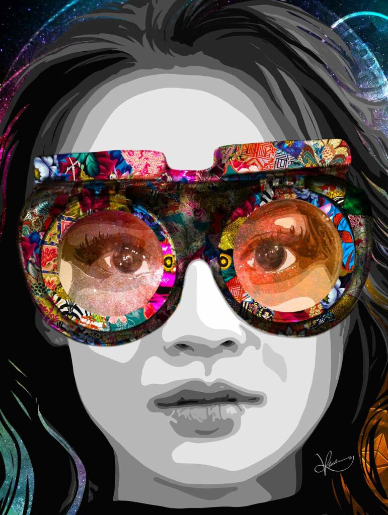 Do Your Own Research (DYOR):a motto that every crypto trader lives by; is portrayed in this NFT by Kristel Bechara.Check her digital artwork!